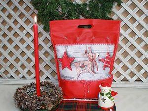 Декорируем сумочки для подарка. Ярмарка Мастеров - ручная работа, handmade.