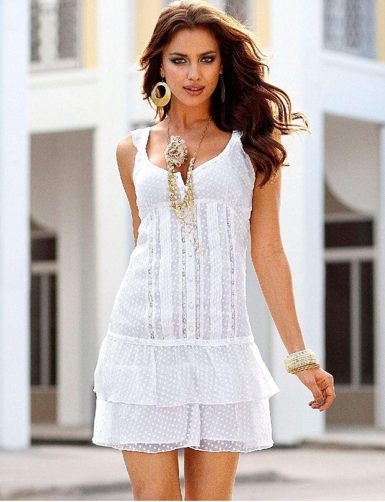Белое бохо, или Шикарная одежда для королевы летнего пляжа, фото № 72