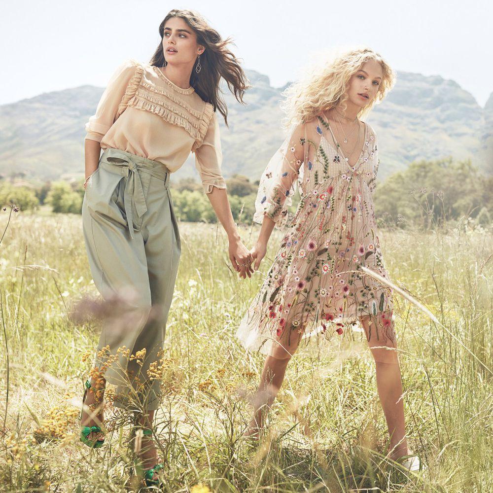 мода 2017, вышивка, реплика