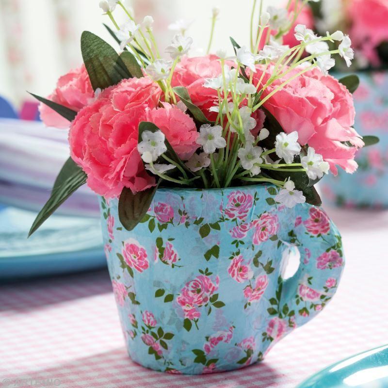 цветы в посуде
