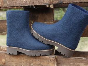 Марина Климчук - Курс по валянию обуви 2 в 1: ботинки + туфли. Новогоднее предложение. | Ярмарка Мастеров - ручная работа, handmade
