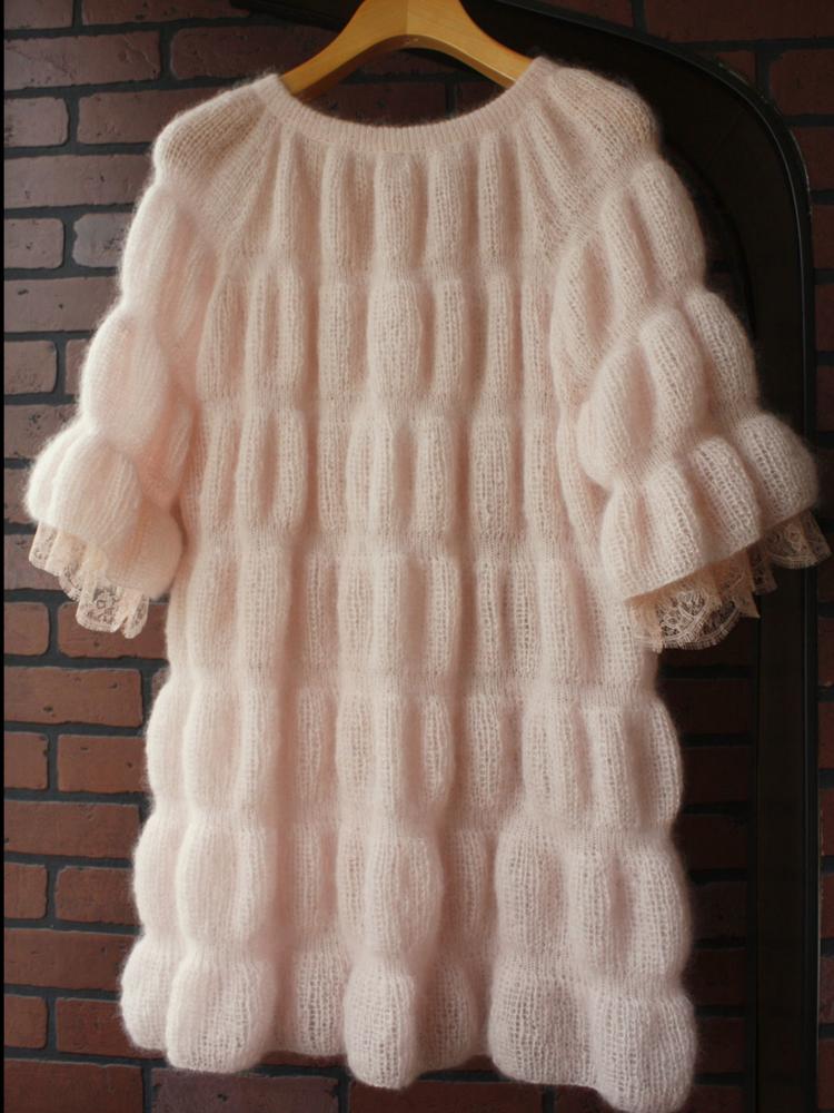 мохеровое платье