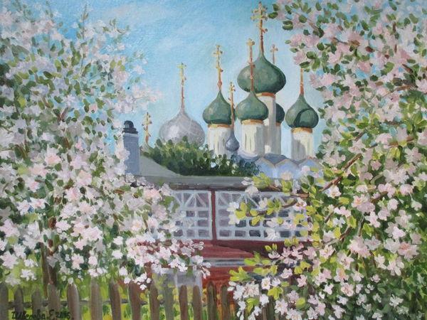 Цветущие сады. | Ярмарка Мастеров - ручная работа, handmade