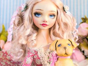 Алекса авторская, интерьерная кукла, будуарная кукла, декор дома, подарок любимой, подарок на день рождения, текстильная кукла. Ярмарка Мастеров - ручная работа, handmade.