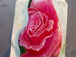 Бутон розы (1 слой) для Марины | Ярмарка Мастеров - ручная работа, handmade