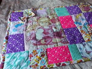Одеяльце пледик для девочки. Ярмарка Мастеров - ручная работа, handmade.