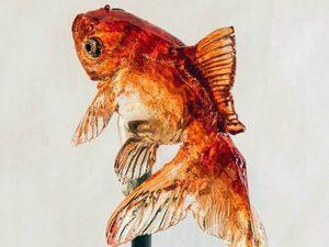 Рыбки будто из аквариума: гиперреалистичные леденцы на палочке | Ярмарка Мастеров - ручная работа, handmade