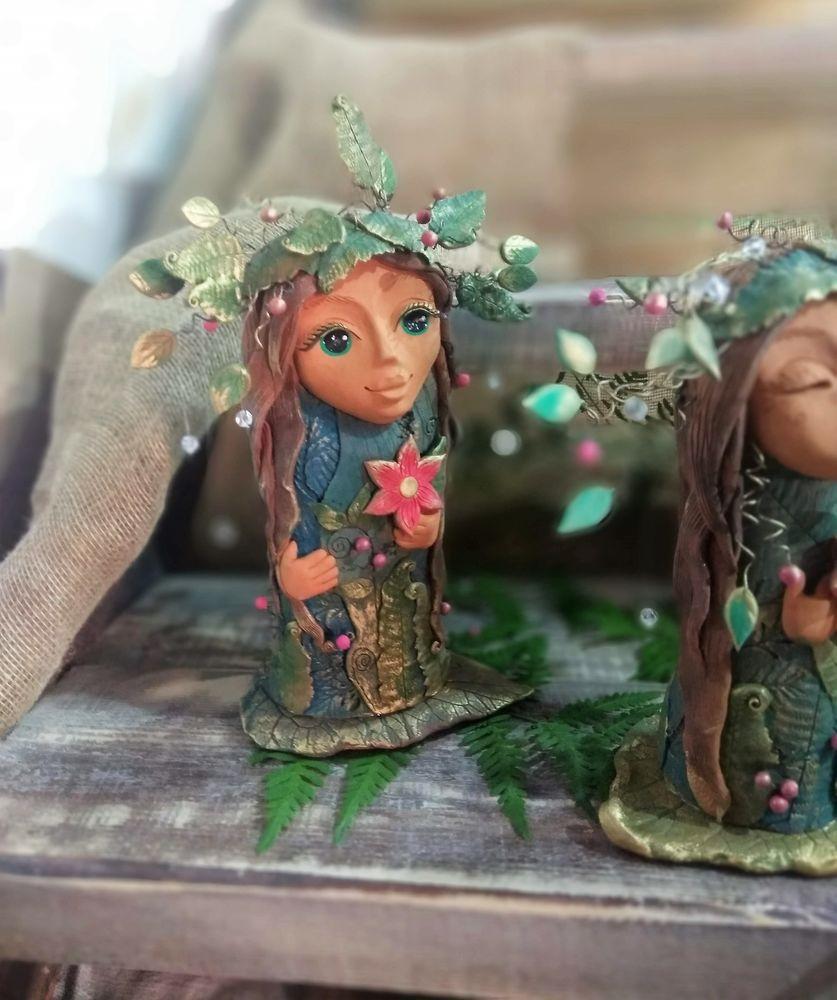 новые работы, волшебство, цветок папоротника, подарок женщине