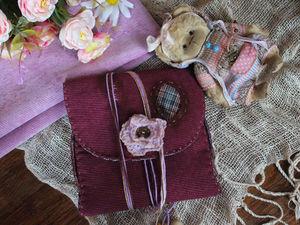 Нужны ли сумочки-переноски к мишкам?. Ярмарка Мастеров - ручная работа, handmade.