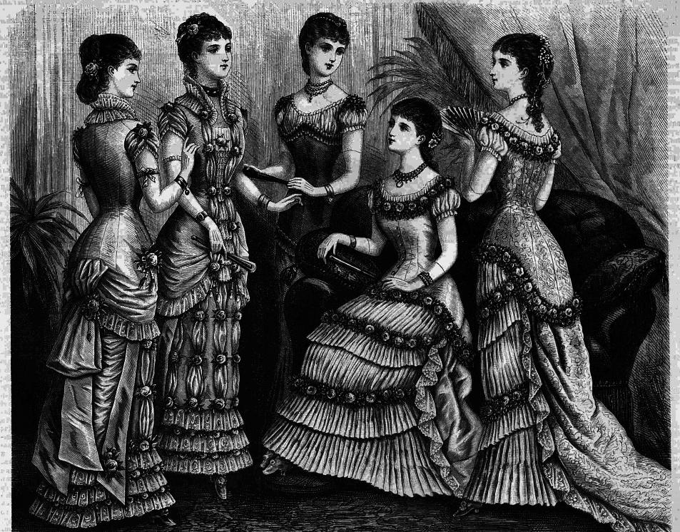 Восхитительная мода конца ХIХ века, фото № 2