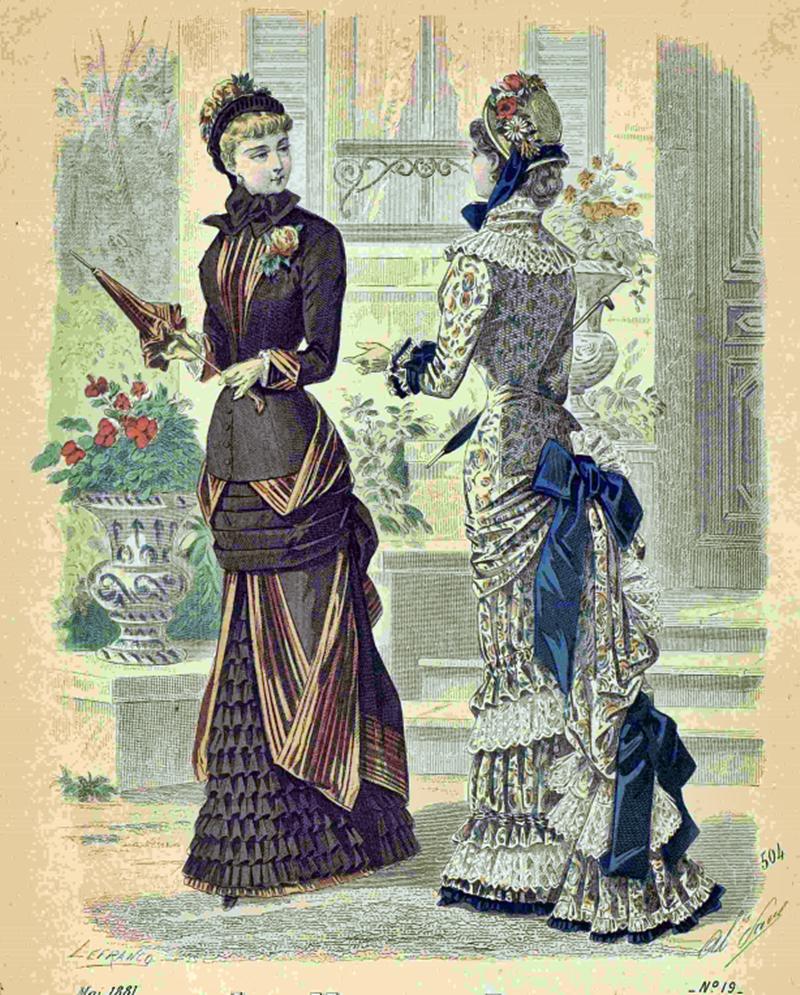 Восхитительная мода конца ХIХ века, фото № 19
