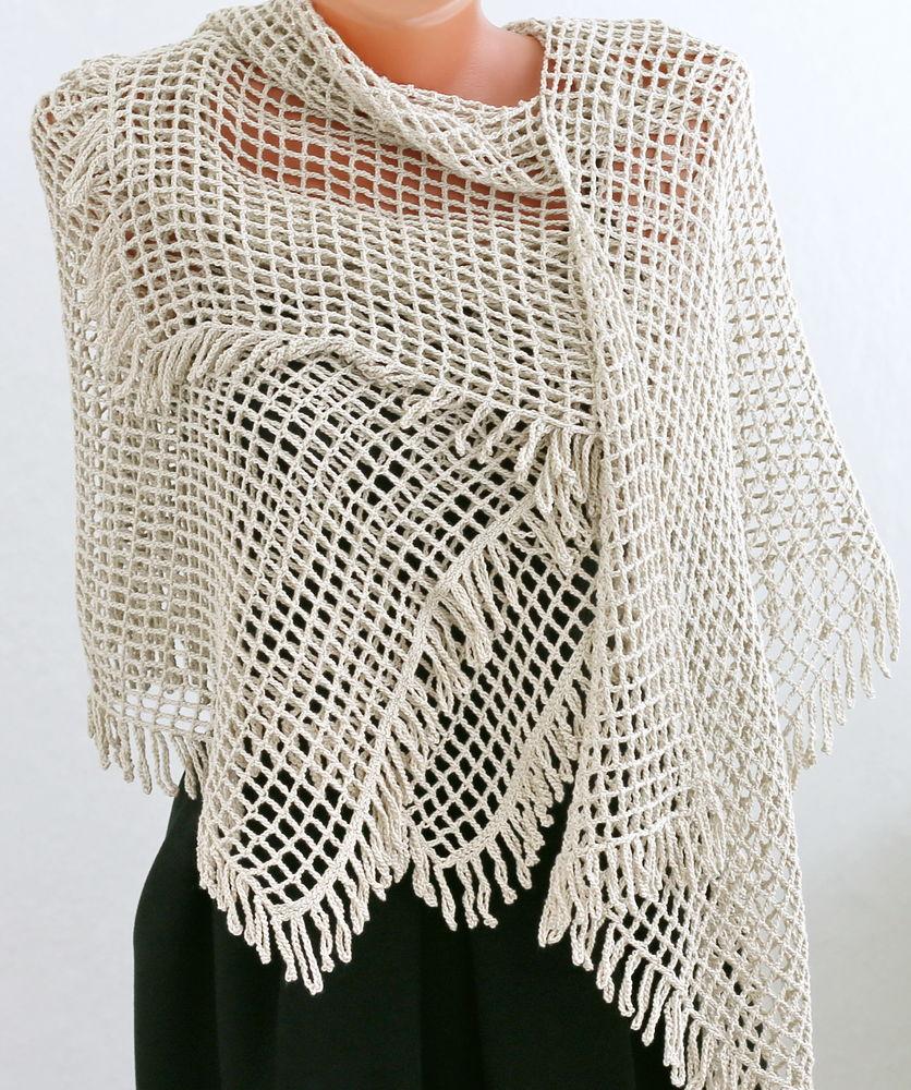 вязаный шарф, стола вязаная, аксессуары крючком