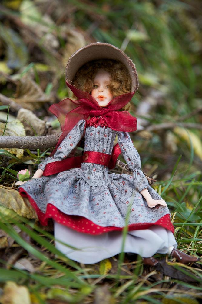 Дополнительные фотографии куклы ручной работы Софии., фото № 15