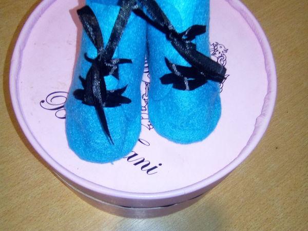 Шьем из фетра ботиночки для игрушек | Ярмарка Мастеров - ручная работа, handmade