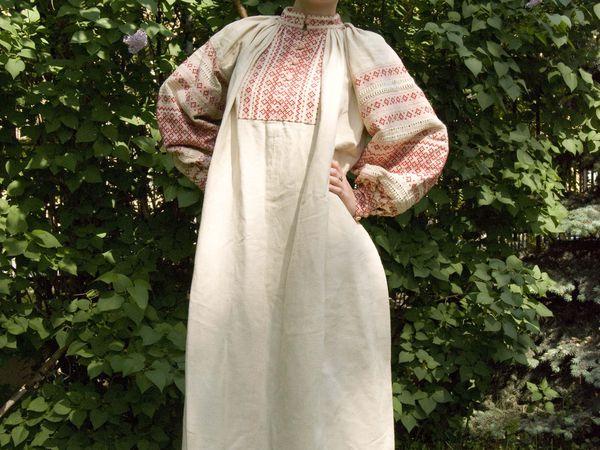 Покосная рубаха   Ярмарка Мастеров - ручная работа, handmade