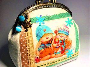 Друзья, поддержите, пожалуйста, кошелечек в конкурсе!. Ярмарка Мастеров - ручная работа, handmade.