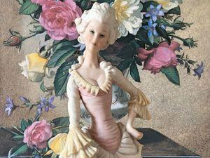 АНОНС! Со вторника в магазине - редкая коллекция статуэток Каподимонте | Ярмарка Мастеров - ручная работа, handmade