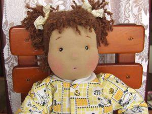 Новый житель Кукла- лялечка   Ярмарка Мастеров - ручная работа, handmade