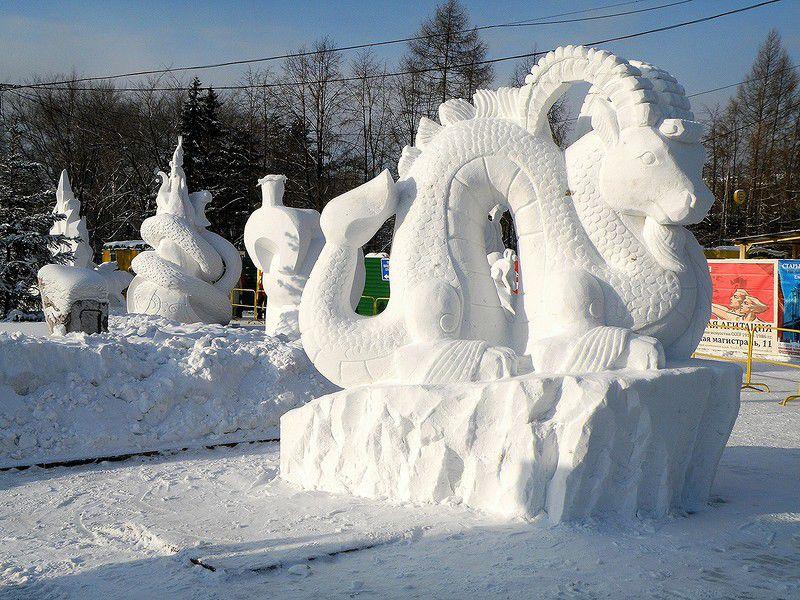 предметы картинки фигур из снега работа дереву может