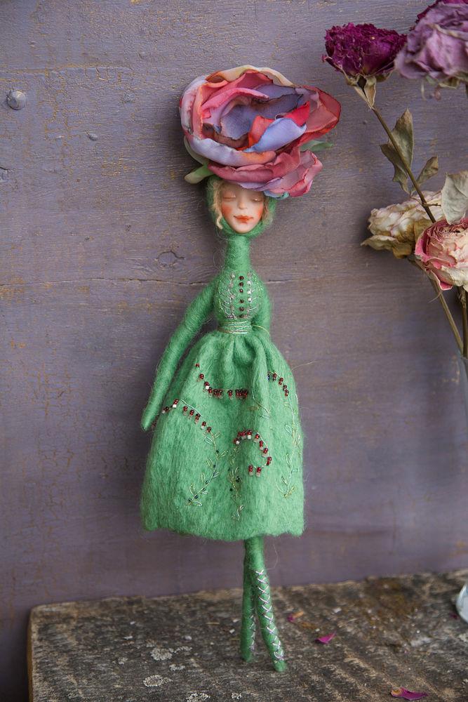 кукла-цветок