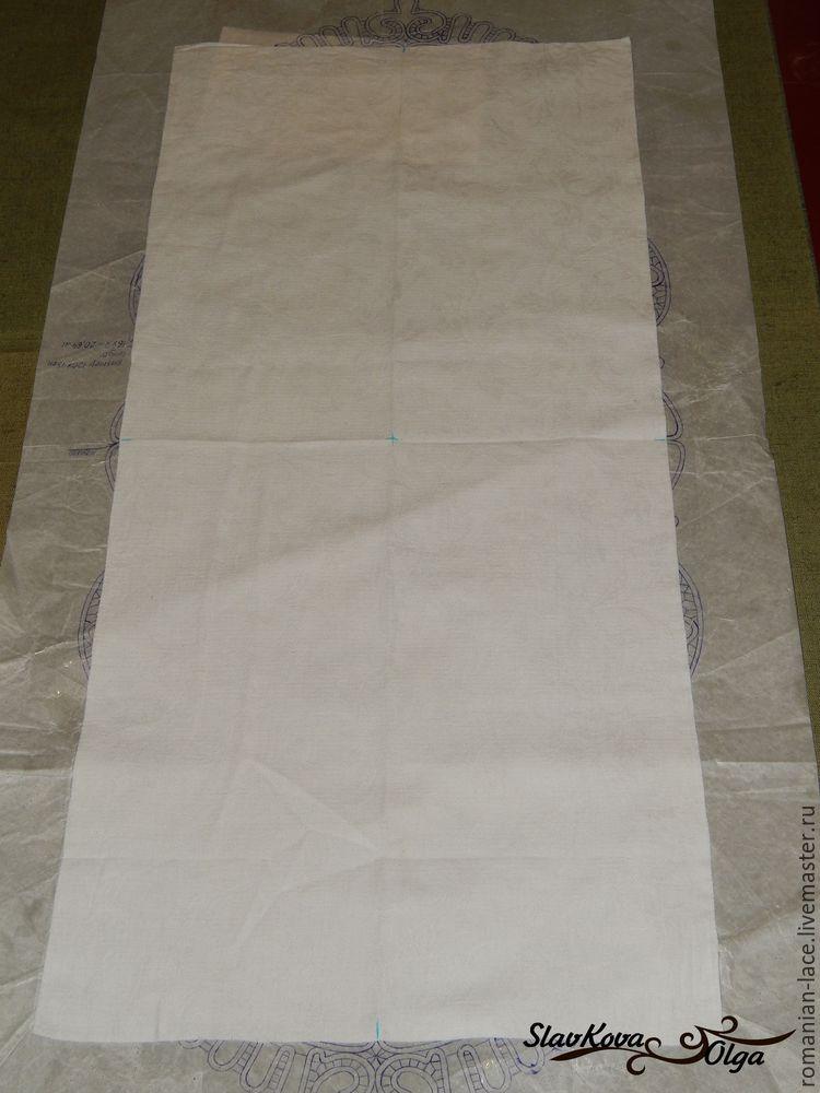 салфетка с тканью