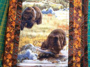Папка для документов «Медведь — хозяин тайги». Ярмарка Мастеров - ручная работа, handmade.