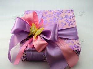 Упаковка подарков «Яркое лето» | Ярмарка Мастеров - ручная работа, handmade