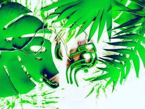 Как сделать листья тропических растений своими руками. Ярмарка Мастеров - ручная работа, handmade.
