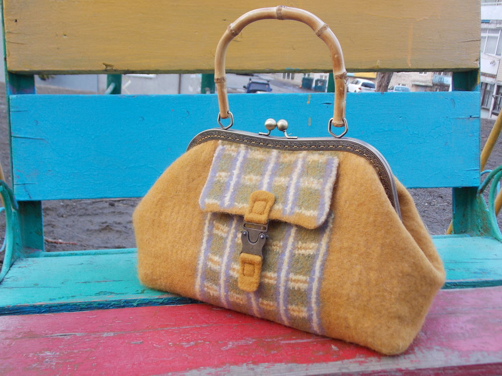 валяние сумки, войлок, сумка войлочная, валяние шёлк