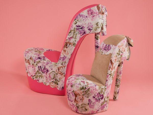 кресла туфельки бывают разными | Ярмарка Мастеров - ручная работа, handmade