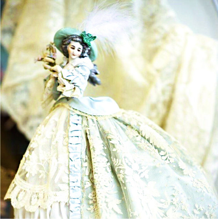 porcelain doll half