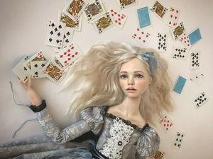 Новая большая Алиса. Возвращение в Страну Чудес!. Ярмарка Мастеров - ручная работа, handmade.