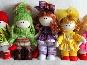 Интерьерные куклы Конфетти. Ярмарка Мастеров - ручная работа, handmade.