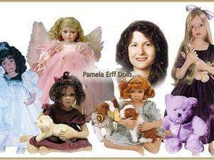 Эксклюзивные куколки из винила и фарфора от Pamela Erff. Ярмарка Мастеров - ручная работа, handmade.