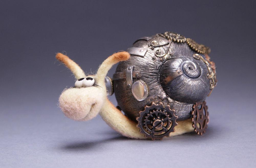 игрушка из шерсти, свинка