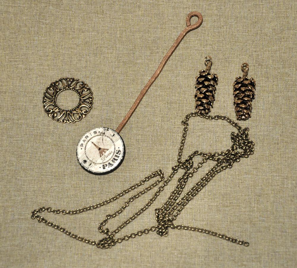 Создаем сказочные декоративные часы для большой елки, фото № 20