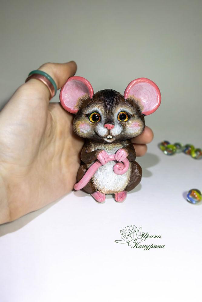 мышь, полимерная глина