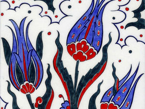 «Турецкий тюльпан» в декоративно-прикладном искусстве. Ярмарка Мастеров - ручная работа, handmade.