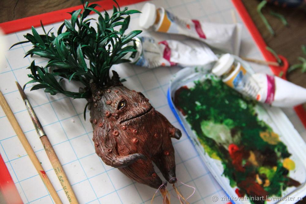 Mandrake. How to Make a Magical Creature, фото № 11