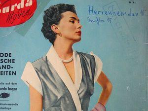 Burda moden 5/1953 Бурда Моден. Ярмарка Мастеров - ручная работа, handmade.