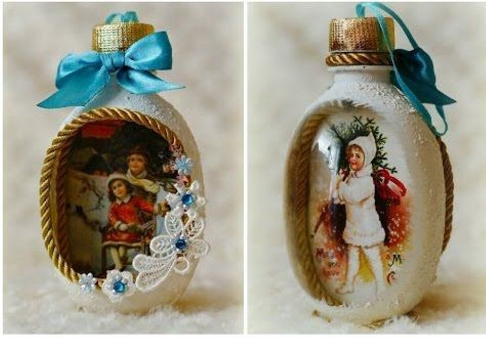 Christmas Decorations from Recycled Materials, фото № 19