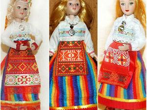 Эстонки — мои куклы, особенности народного эстонского костюма. Ярмарка Мастеров - ручная работа, handmade.
