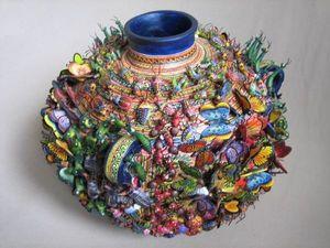 Необычная и завораживающая керамика Alfonso Castillo Orta. Ярмарка Мастеров - ручная работа, handmade.