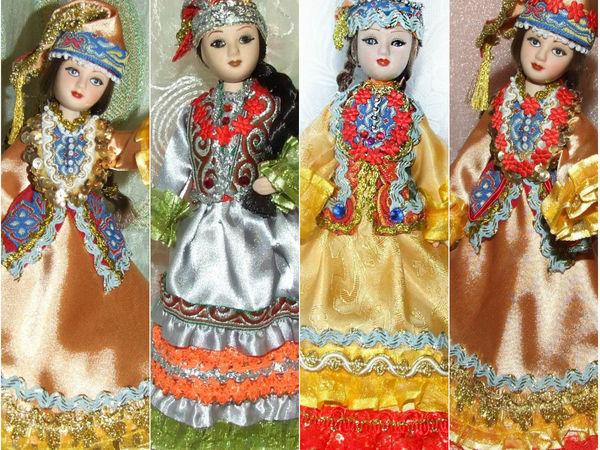 Татарки — мои куклы, особенности татарского народного костюма | Ярмарка Мастеров - ручная работа, handmade