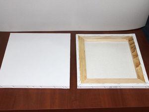 Подготовка (обтяжка и грунтовка) холста для написания картины масляными красками. Ярмарка Мастеров - ручная работа, handmade.