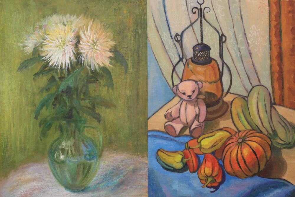 акция магазина, натюрморты, картины со скидкой, живопись мастихином