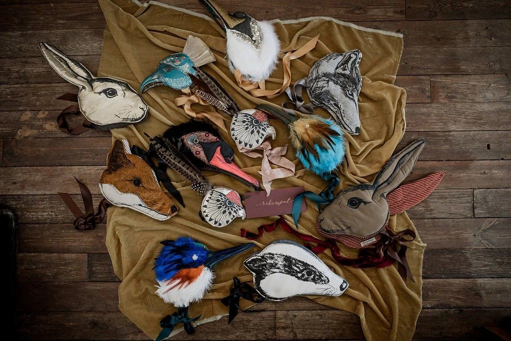 Show Your Wild Side: Luxury Animal Masks by Animalesque, фото № 30