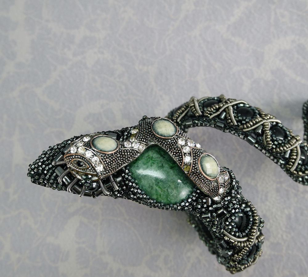 браслет змея, женские браслеты