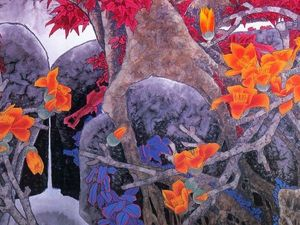 Incredible Chinese Watercolours by Liu Yitao. Livemaster - handmade