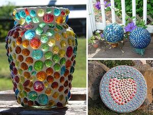 Стеклянные шарики марблс как незаменимый элемент в декорировании. Ярмарка Мастеров - ручная работа, handmade.